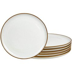Here's How to Nail the Japandi Interior Design Style Using Amazon Finds | Embrace natural materials with this set of ceramic dinner plates. Not only do they look nice, but they're also oven-, dishwasher-, and microwave-safe. #decorideas #homedecor #decorinspiration #realsimple #smallspaceideas #apartmentideas Dinner Plate Sets, Dinner Plates, Interior Design Principles, Light Colored Wood, Wooden Coat Rack, Japanese Interior Design, Decorating Small Spaces, Natural Texture, Natural Materials