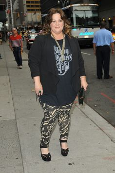 MELISSA MCCARTHY'S WEEK OF STYLE.. It's all cute, but I couldn't wear the shoes.