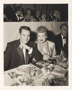 Lucy & Desi. Man, he was quite easy on the eyes! Still is if you watch the show.