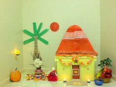 The Best Sankranti Customs, Crafts & Recipe Ideas to make with Kids - Artsy Craftsy Mom Hand Crafts For Kids, Diy Arts And Crafts, Creative Crafts, Decor Crafts, Diy Crafts, Kite Decoration, Board Decoration, Pongal Celebration, Kites Craft