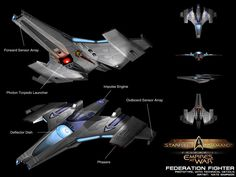 23rd Century Federation Fighter