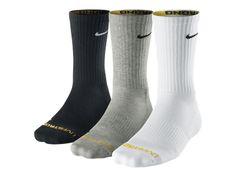 LIVESTRONG Dri-FIT Cotton Crew Training Socks (3 Pair) - $16.00