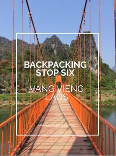 Next stop on our backpacking adventure was to explore Laos's famous party town Vang Vieng. Seeing what else this town has to offer beyond partying...