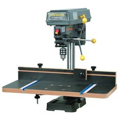 Drill Press Extension Table with Fence