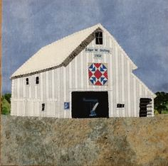 This quilt square was submitted for the 2016 Indiana Bicentennial Barn Quilt for Starke County.  It was made by Judy Harness.