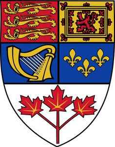 godło kanady - Canada coat of arms Canadian Coat Of Arms, Canadian Army, Order Of Canada, Canada Eh, Pop Art Images, Plantagenet, Canadian History, Family Crest, Crests