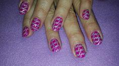 #nailart # gelish #acrylic Nailart