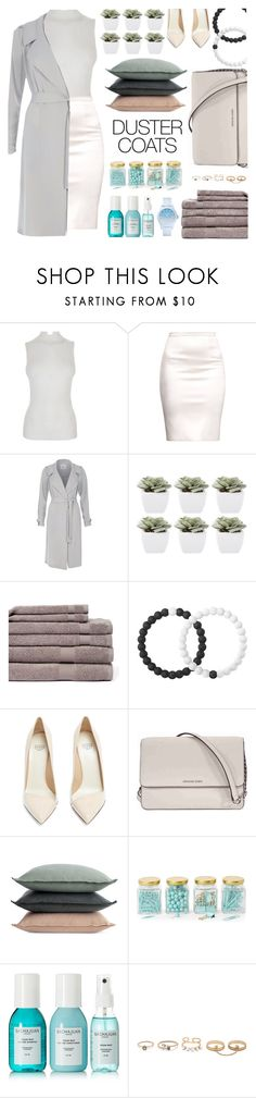 """Duster Coats"" by sophiaheart on Polyvore featuring Fendi, River Island, Abigail Ahern, Revere Mills, Lokai, Francesco Russo, Michael Kors, Design Within Reach, Argento SC and Sachajuan"