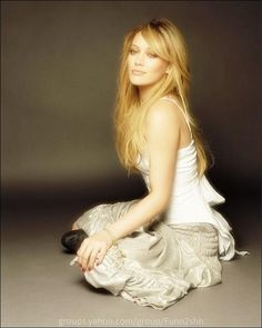 Hillary duff, she is so pretty
