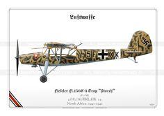LUFTWAFFE (WW2)  2.(H)/AUFKL.GR. 14 North Africa. 1941-1942