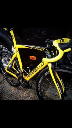 Bike winner pinarello 2015