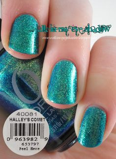 """Walk In My Eye Shadow: Nail of the Day: Orly """"Halley's Comet"""""""