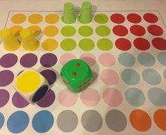Kodowanie na dywanie: Kolor postaw...kolor zabierz Ideas Para, Creative, School Ideas, September, Anna, Kids Math, Therapy, Games