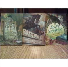 Lot of 3 SCARY STORIES TO TELL IN THE DARK More childrens Books Halloween EUC 9780545385077 on eBid United States