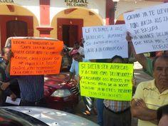 """Comerciantes de Santa Lucía del Camino """"Truenan"""" contra el Presidente Municipal"""
