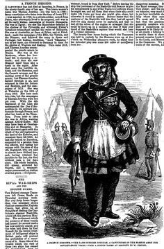 A FRENCH HEROINE . The Penny Illustrated Paper (London, England), Saturday, February 15, 1862