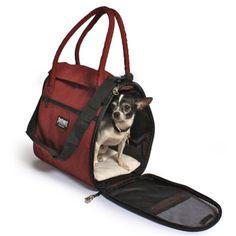 a0e41622e4 Amazon.com   Incognito Discrete Pet Carrier Tote - Bordeaux   Soft Sided  Pet Carriers   Pet Supplies