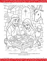 lesson 46 jesus christ is the greatest gift christmas primary 2 - Choose The Right Coloring Page