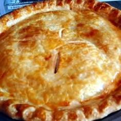 This is the easiest rhubarb pie recipe that I ever tried. Hardly any work at all. Enjoy!!!!!!!!!