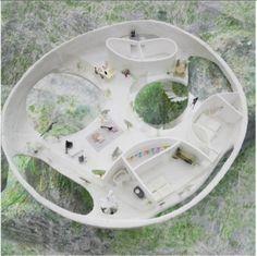 Junya Ishigami's proposal. Image Courtesy of Ochoalcubo