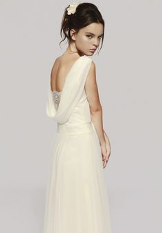 Vestido de novia de Otaduy modelo Morrissey