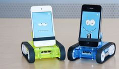 turn my phone into a ROBOT! @Sabrina Nobile I think we need these...wonder if they can light saber duel too?