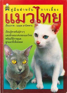 แมวไทย meew thai メーオタイ The book written about the Siamese cats タイ猫の本(タイ語)