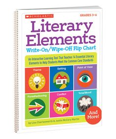 Take a look at this Literary Elements Write-On/Wipe-Off Flip Chart on zulily today!