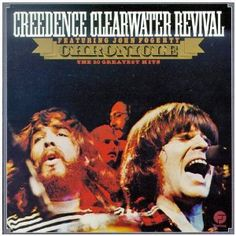 Credence Clearwater Revival - 20 Greatest Hits... CCR, what more needs to be said? Classic.