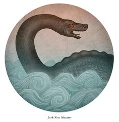 GM Inspiration: An illustrated guide of contemporary monsters: Loch Ness Monster 2