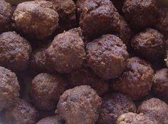 Krydrede lammekjøttboller - nicely spiced lamb meatballs