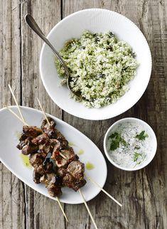 Sticks med blomkålscouscous og sauce tartare - BO BEDRE