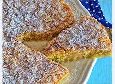 Tarte rápida de amêndoa Ingredientes: – 3 ovos à temperatura ambiente (usei tamanho L) – 200g de açúcar refinado – 200g de amêndoa ralada – raspa de 1 laranja (ou limão) – 50g de manteiga derretida e arrefecida – amêndoa laminada q.b. – açúcar em pó para polvilhar no final – manteiga para untar q.b. Preparação: Untar uma forma …