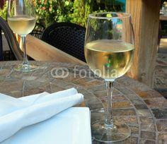 White Wine on the Patio