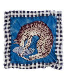 Charlotte Linton: Scarf, Fishing Cat