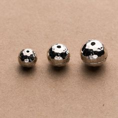 10pcs  small solid Sterling Silver 925 Bali oxidized Bead Spacer  6.5mm S85
