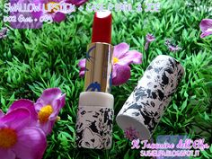 Swallow Lipstick 002 Eros + Case P 003 Paul & Joe