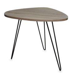 POMAX Nierentisch Tisch Beistelltisch braun schwarz modern Design 60cm Siehe mehr unter http://www.woonio.de/p/pomax-nierentisch-tisch-beistelltisch-braun-schwarz-modern-design-60cm/