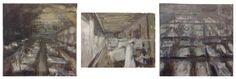 Nico Vaerewijck - Spaanse griep - Olieverf op doek - Stedelijke Academie Schone Kunsten Sint-Niklaas - Art, Painting