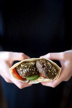 Falafel made with split dried white fava beans - taameyya