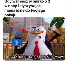 Very Funny Memes, Great Memes, Good Jokes, Haha Funny, Funny Jokes, Funny Lyrics, Polish Memes, Dark Sense Of Humor, Weekend Humor