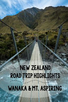 Week 4 of my New Zealand Road Trip included the Rhytym and Alps music festival in Wanaka, hiking the Rob Roy Glacier, and solo backpacking in Mt. Aspiring National Park