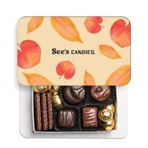 See's Candies's photo. Autumn Leaves, Lunch Box, Treats, Candy, See's Candies, Chocolate, Falling Leaves, Sweet Like Candy, Goodies