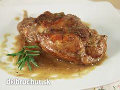 Králik na horčici Thing 1, Food And Drink, Pork, Meat, Chicken, Straws, Kale Stir Fry, Pigs, Pork Chops