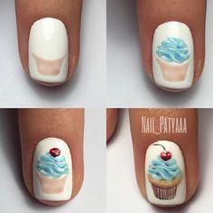 Мастер @nail_patyaaa  cupcake nails