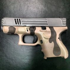 Glock 26 with Custom Lone Wolf Machined Slide