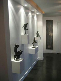 All Details You Need to Know About Home Decoration - Modern Interior Walls, Home Interior Design, Interior Decorating, Foyer Design, Living Room Designs, Living Room Decor, Beautiful Interiors, Home Decor, Home Theater