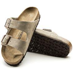 f64815d6015 Arizona Suede Leather. Leather Slip OnsSuede LeatherArizonaTaupe SandalsFresh  KicksBirkenstock ...