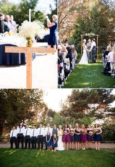Huntington Beach Wedding at the Red Horse Barn – Style Me Pretty