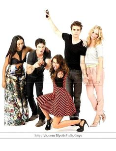 The Vampire Diaries at Comic Con 2013 in San Diego